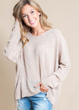 Lightweight Pull over Sweater, CLOTHING, Cozy Casual, BAD HABIT BOUTIQUE