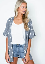 Star Was Born Cardigan, CLOTHING, 7th Ray, BAD HABIT BOUTIQUE