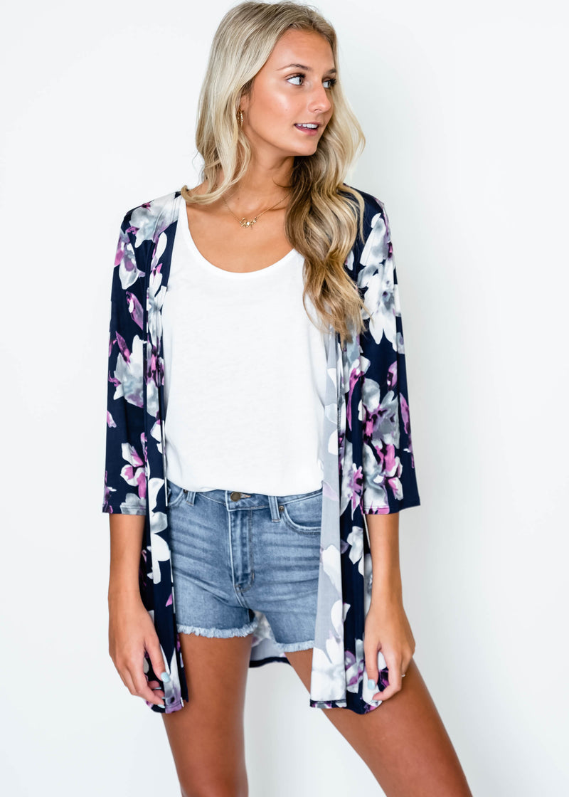 Floral Transformations Kimono | FINAL SALE, CLOTHING, Heimish, BAD HABIT BOUTIQUE