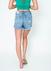 Frayed Short | Just USA | FINAL SALE, CLOTHING, JUST USA, BAD HABIT BOUTIQUE