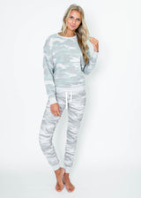 Camo Crew Sweatshirt | FINAL SALE, CLOTHING, Reflex, BAD HABIT BOUTIQUE