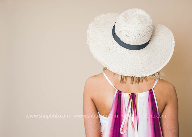 Talk The Talk Frayed Sun Hat