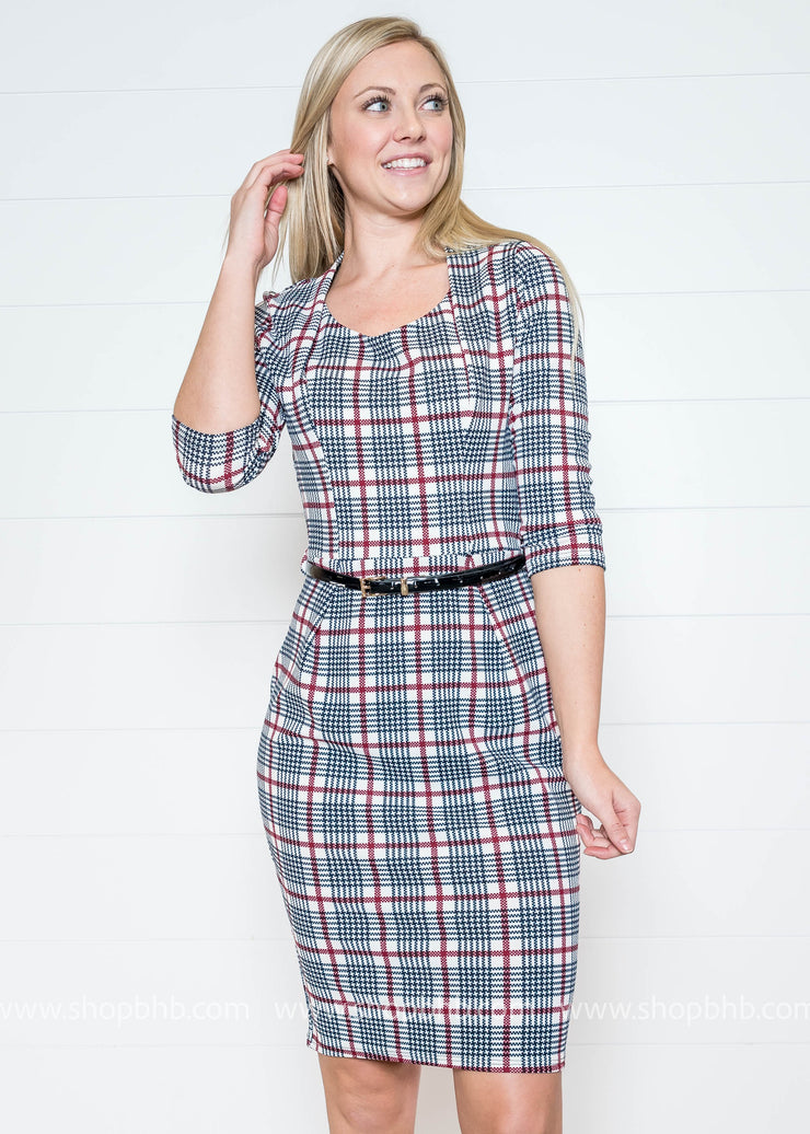 So Formal Yet So Casual Dress- FINAL SALE
