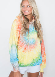 Splash Tie Dye Hoodie | FINAL SALE, CLOTHING, Exist Sport Line, BAD HABIT BOUTIQUE