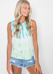 Summer in Boji Tie Dye Tank | FINAL SALE