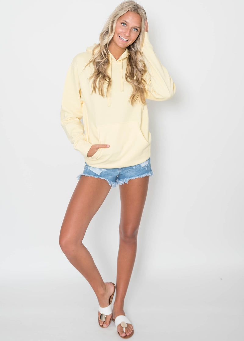 Basic Colorful Hoodie, CLOTHING, SS, BAD HABIT BOUTIQUE