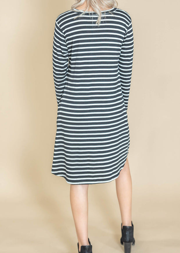 striped dress for Fall