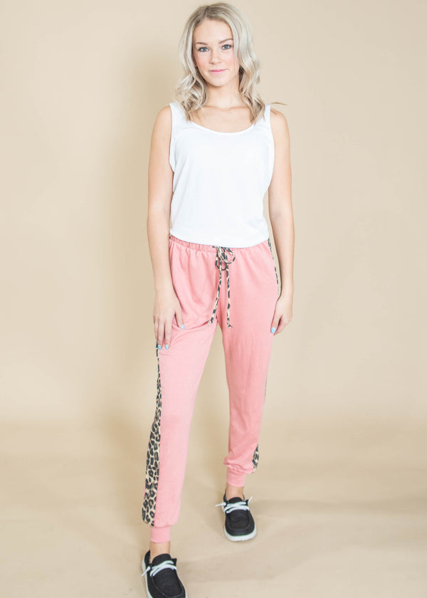 Cheetah Striped Jogger, CLOTHING, Heimish, BAD HABIT BOUTIQUE