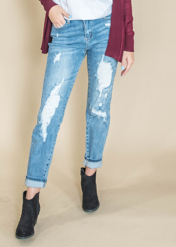 judy blue distessed denim