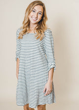 Striped Dress | FINAL SALE, CLOTHING, andree by unit, BAD HABIT BOUTIQUE