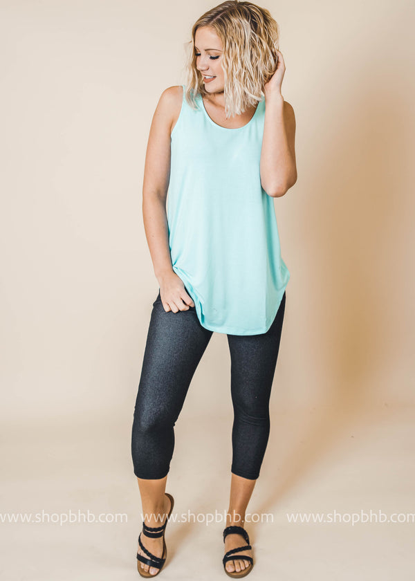 Relaxed Fit Everyday Tank, CLOTHING, Zenana, BAD HABIT BOUTIQUE