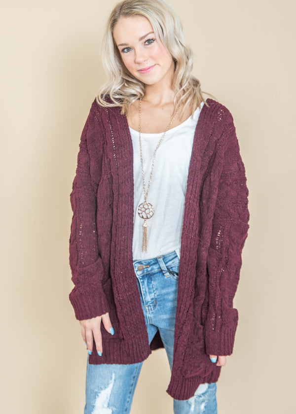 Comfy + Cozy Cardigan, CLOTHING, MIRACLE, BAD HABIT BOUTIQUE