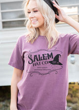 Salem Hat Co Graphic T-Shirt, CLOTHING, BAD HABIT APPAREL, BAD HABIT BOUTIQUE