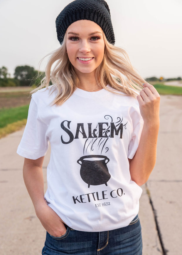 salem kettle co. graphic t-shirt