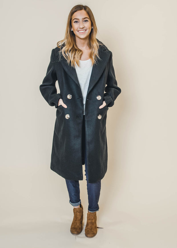 Business as Usual Peacoat - Final Sale