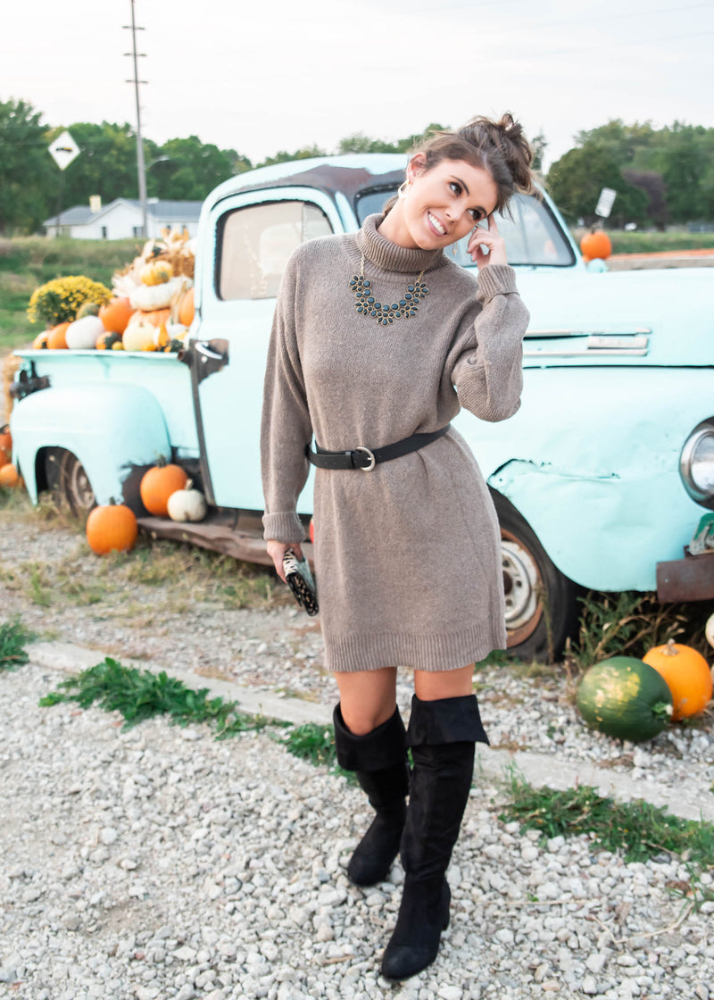 Sweater Dress | FINAL SALE, CLOTHING, ENTRO, BAD HABIT BOUTIQUE
