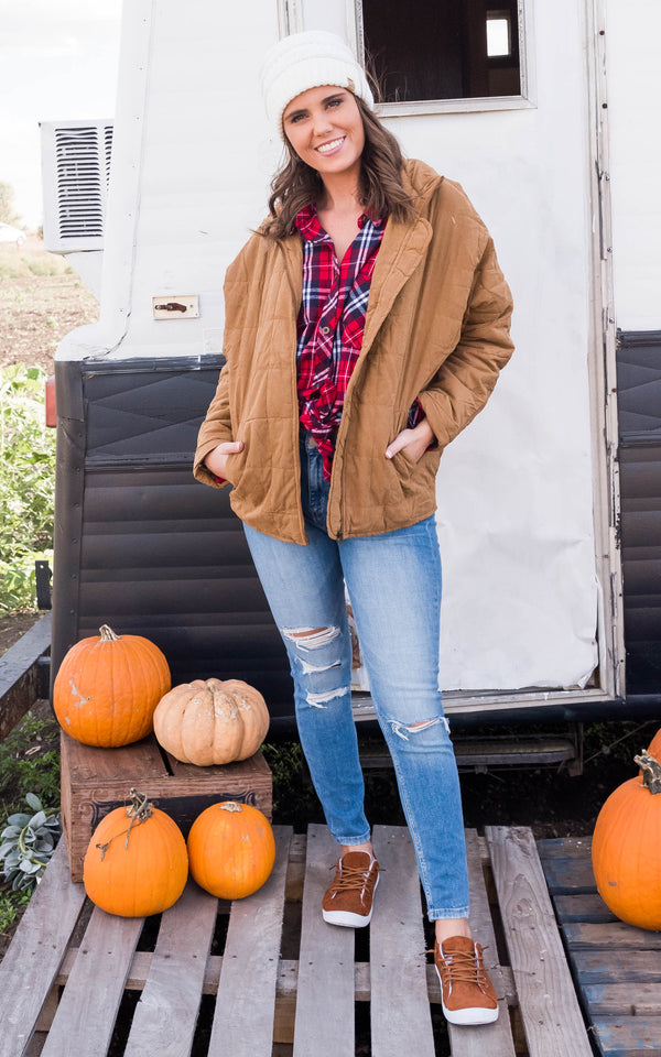 Up & Autumn Quilted Puffer Jacket, CLOTHING, JODIFL, BAD HABIT BOUTIQUE