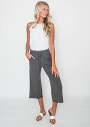 Wide Leg Capri | FINAL SALE, CLOTHING, Zenana, BAD HABIT BOUTIQUE