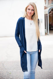 Our lightweight cardigan is perfect for the office