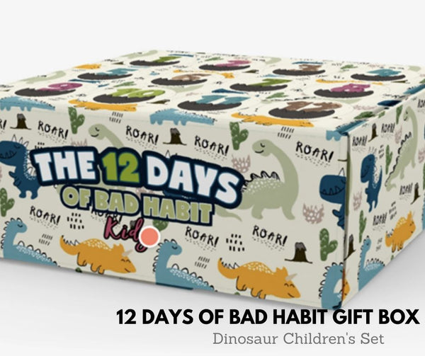 THE 12 DAYS OF DINOSAURS Gift Box - Ships Oct 28 2020, 12 DAYS, BAD HABIT BOUTIQUE, BAD HABIT BOUTIQUE