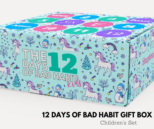12 DAYS OF CHRISTMAS GIFT BOX FOR KIDS | YOUTH  2019- Dec 13TH ship date, 12 DAYS, BAD HABIT BOUTIQUE, BAD HABIT BOUTIQUE