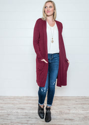Deal of the Day:  Duster Cardigan, CARDIGANS, Zenana, badhabitboutique
