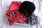Very Merry Gift Set, GIFT BOXES, BAD HABIT APPAREL, BAD HABIT BOUTIQUE