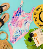 Maybe it's Marbleline One Piece Swimsuit | FINAL SALE, CLOTHING, Envya, BAD HABIT BOUTIQUE