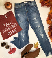 MID RISE cello distressed crop skinny jeans, cello, jeans, denim, crop denim