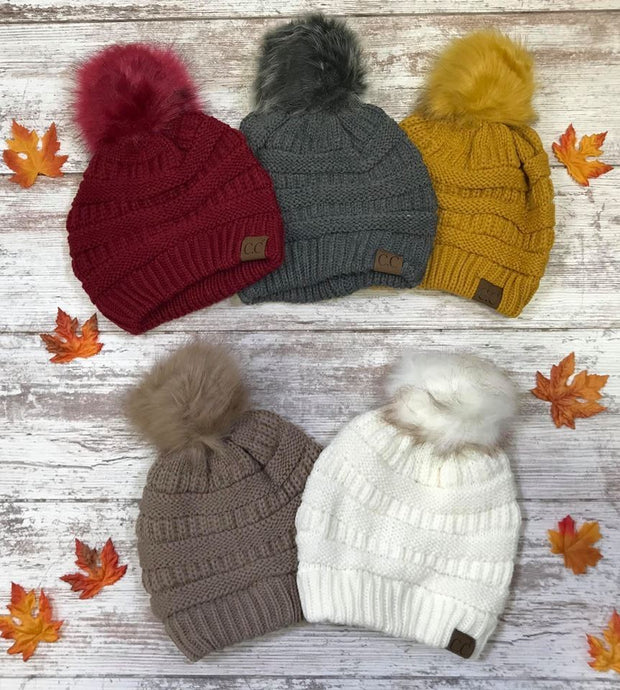 CC Beanies are a fashionable way to stay warm this season.
