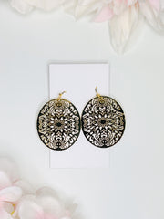 Moroccan Gold Earrings