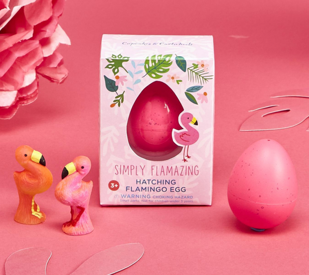 Hatching Egg Flamingo