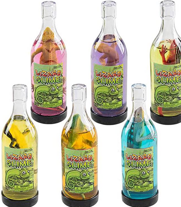 LIZARD SLIME IN A BOTTLE