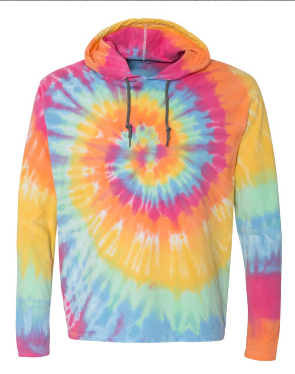 Tie Dye Hooded Pullover Long Sleeve - Final Sale, CLOTHING, SSACTIVE, BAD HABIT BOUTIQUE