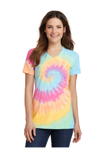 Boji V-Neck Tie Dye Tee | FINAL SALE, CLOTHING, S&S, BAD HABIT BOUTIQUE