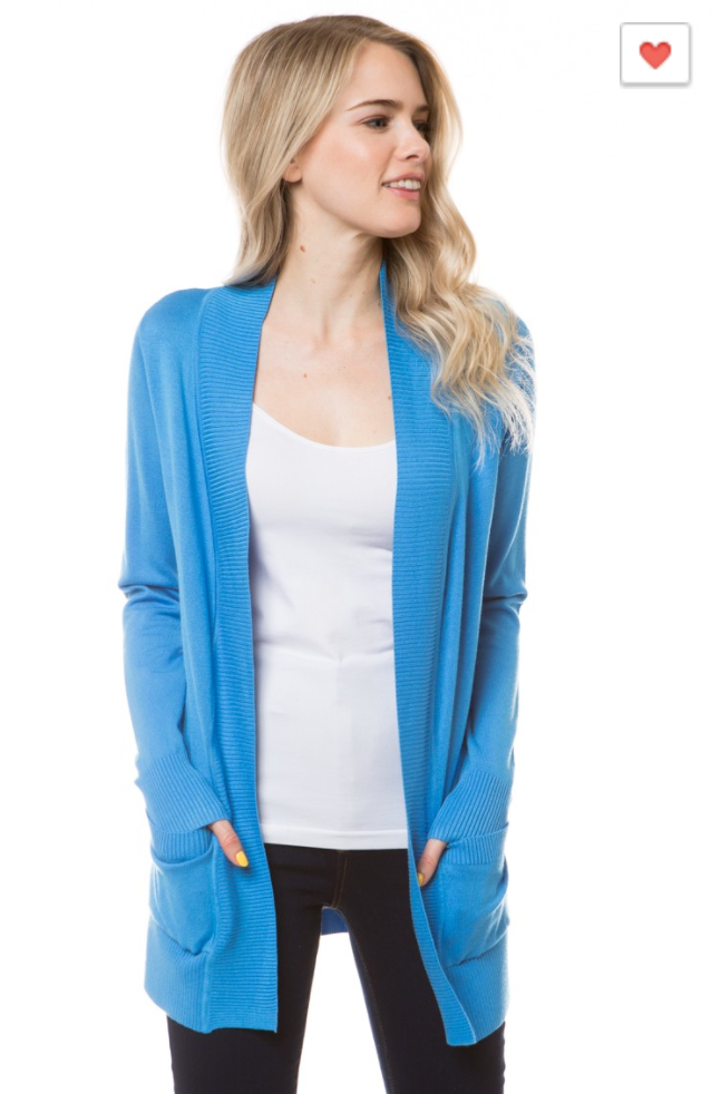 Boyfriend Cardigan Spring, CLOTHING, CIELO, BAD HABIT BOUTIQUE