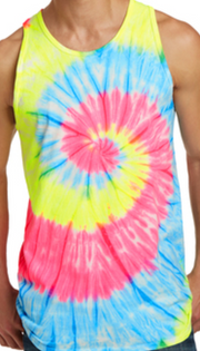 Tie Dye Tank Top | FINAL SALE, CLOTHING, SANMAR, BAD HABIT BOUTIQUE