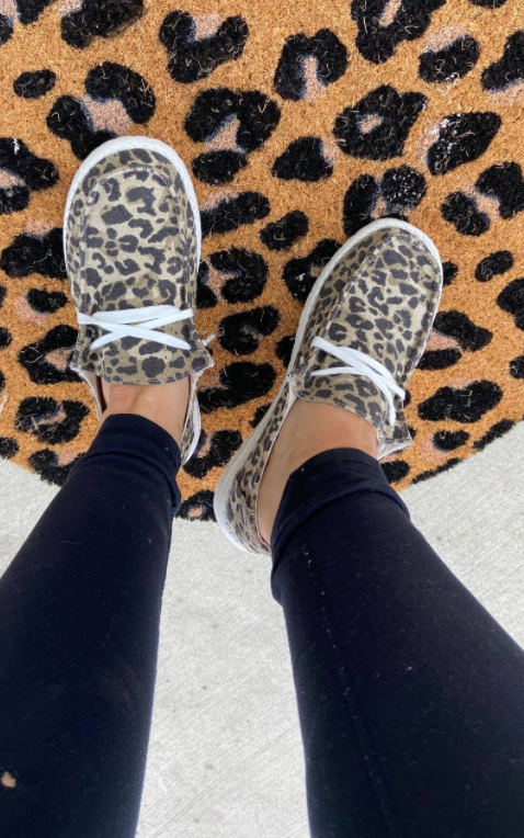 Leopard Slip on Holly Shoes - Very G, CLOTHING, very g, BAD HABIT BOUTIQUE