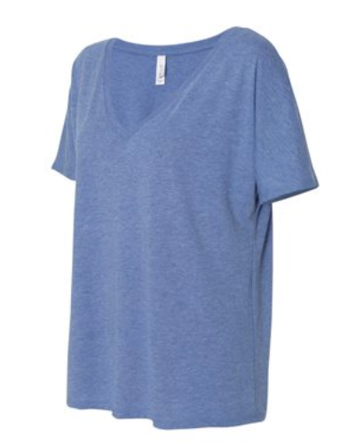 V-NECK Slouchy Tee  *PREORDER*, CLOTHING, SS, BAD HABIT BOUTIQUE