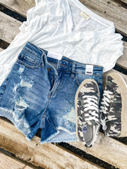 Destructed Cut- Off Shorts |  Judy Blue