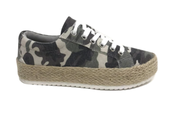 Camo Maria Espadrille Tennis Shoe | VERYG, SHOES, VERYG, BAD HABIT BOUTIQUE