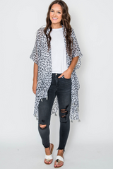 Cheetah Tassel Kimono, CLOTHING, JOIA, BAD HABIT BOUTIQUE