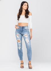 Destroyed Boyfriend | Judy Blue, CLOTHING, JUDY BLUE, BAD HABIT BOUTIQUE