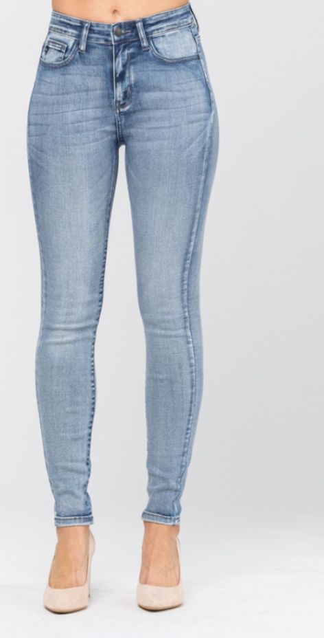 High Rise Judy Blue Skinny Jean, CLOTHING, JUDY BLUE, BAD HABIT BOUTIQUE