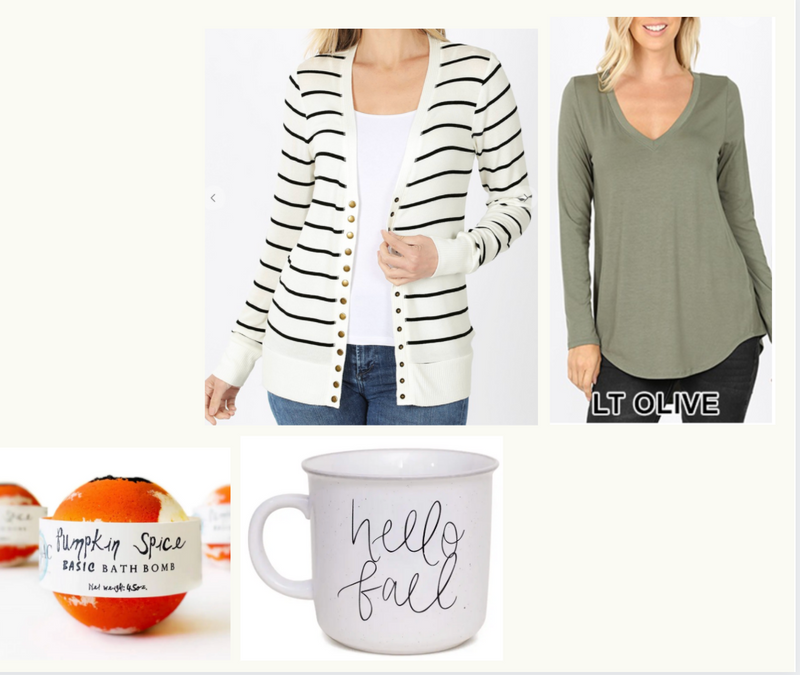 Sara's Fall Favorite Things (presale) -, CLOTHING, ADDICTED BOX, BAD HABIT BOUTIQUE