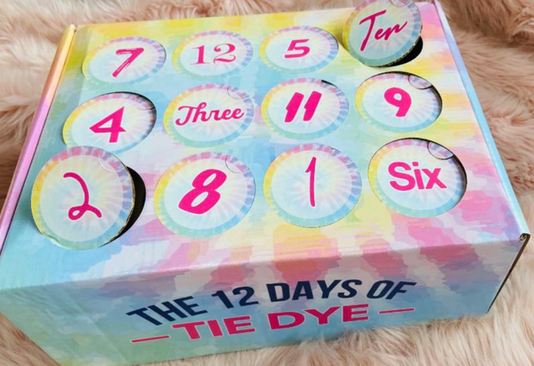 12 Days of Tie Dye Advent Calendar | PRESALE SHIPS OCTOBER 30TH, 12 DAYS, BAD HABIT BOUTIQUE, BAD HABIT BOUTIQUE