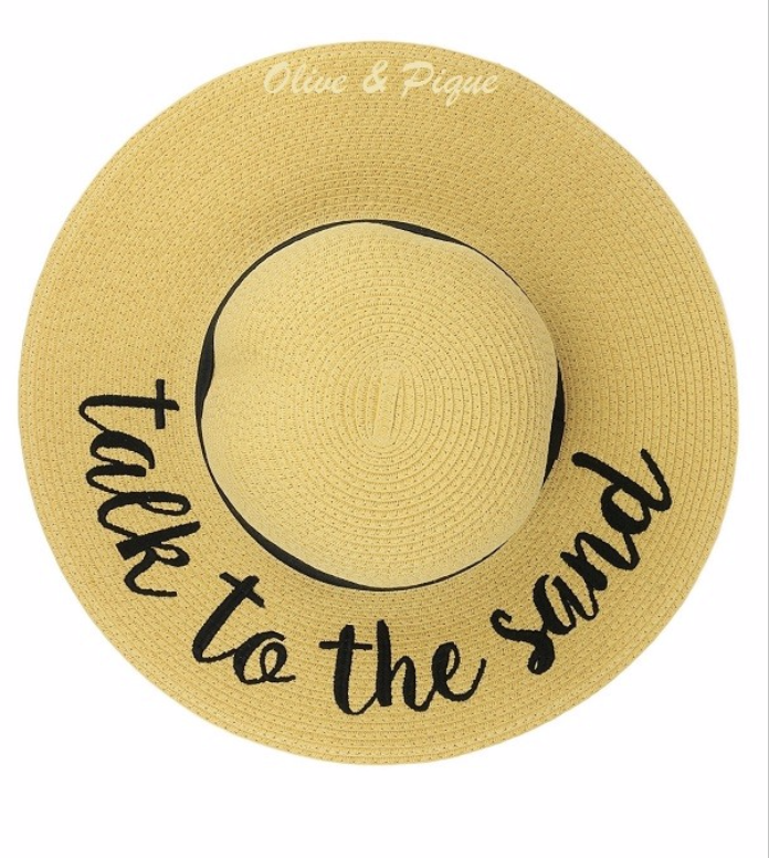 Talk To The Sand Sun Hat | FINAL SALE