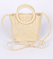 Smile Very Often Straw  Bag