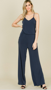 Navy Jumpsuit  - Annabelle | FINAL SALE