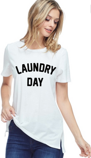 Laundry Day Graphic Top | FINAL SALE